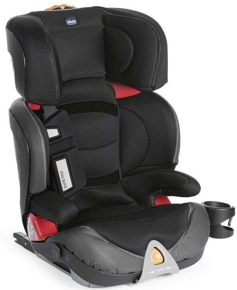 Fotelik samochodowy Oasys 2-3 FixPlus Evo 15-36kg Chicco + GRATIS (jet black)